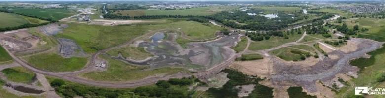Marsh Wren Construction Panoramic